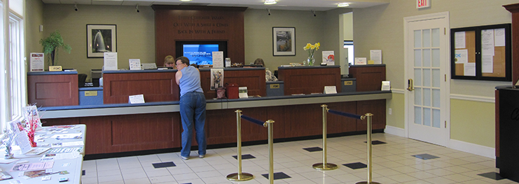 lee bank counter