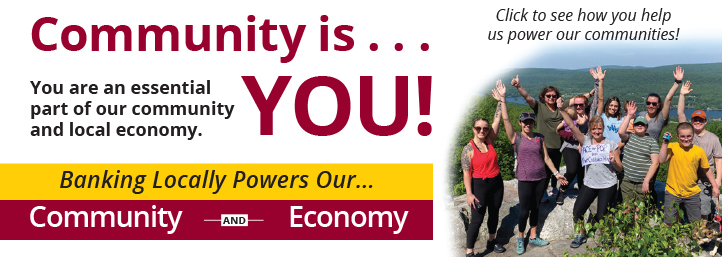 Community is you banner